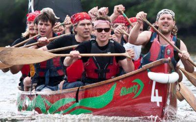 Totnes Longbow Canoe Festival